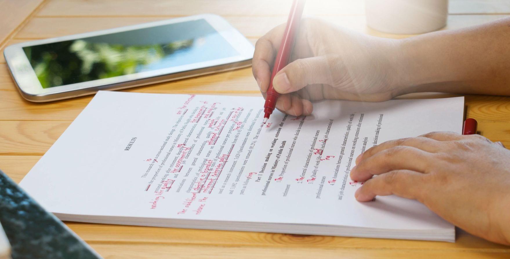 Как исправление ошибок может улучшить навыки письма
