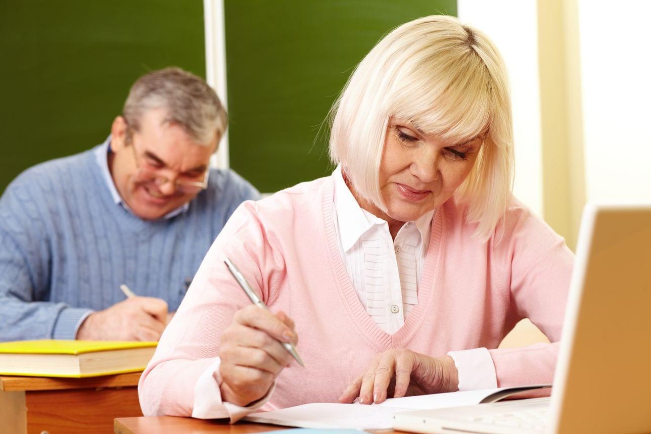 «Кому за …», или особенности преподавания возрастным студентам