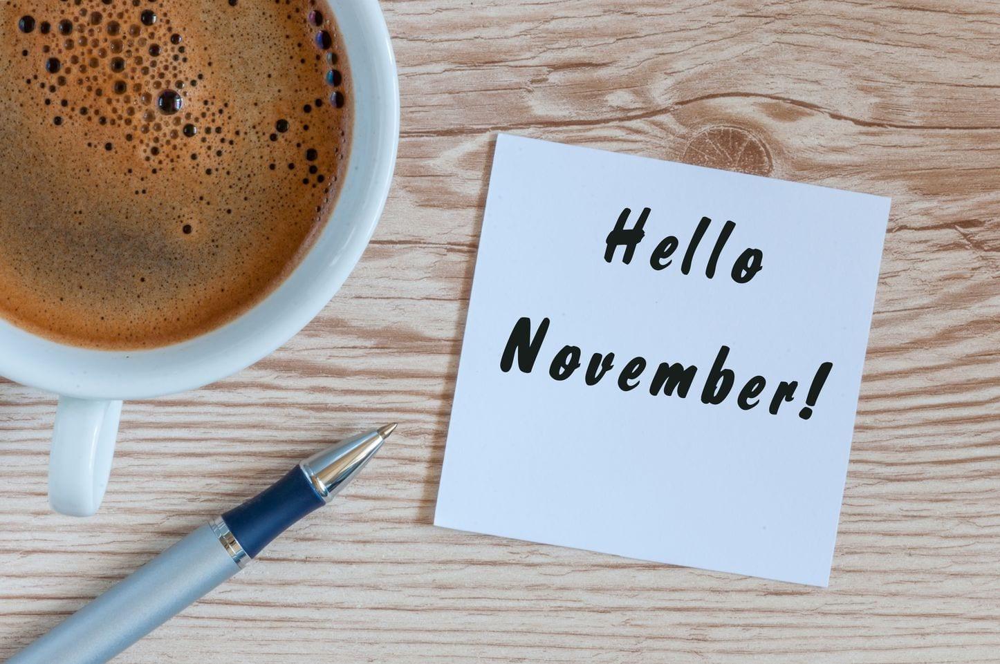 События для учителей английского в ноябре