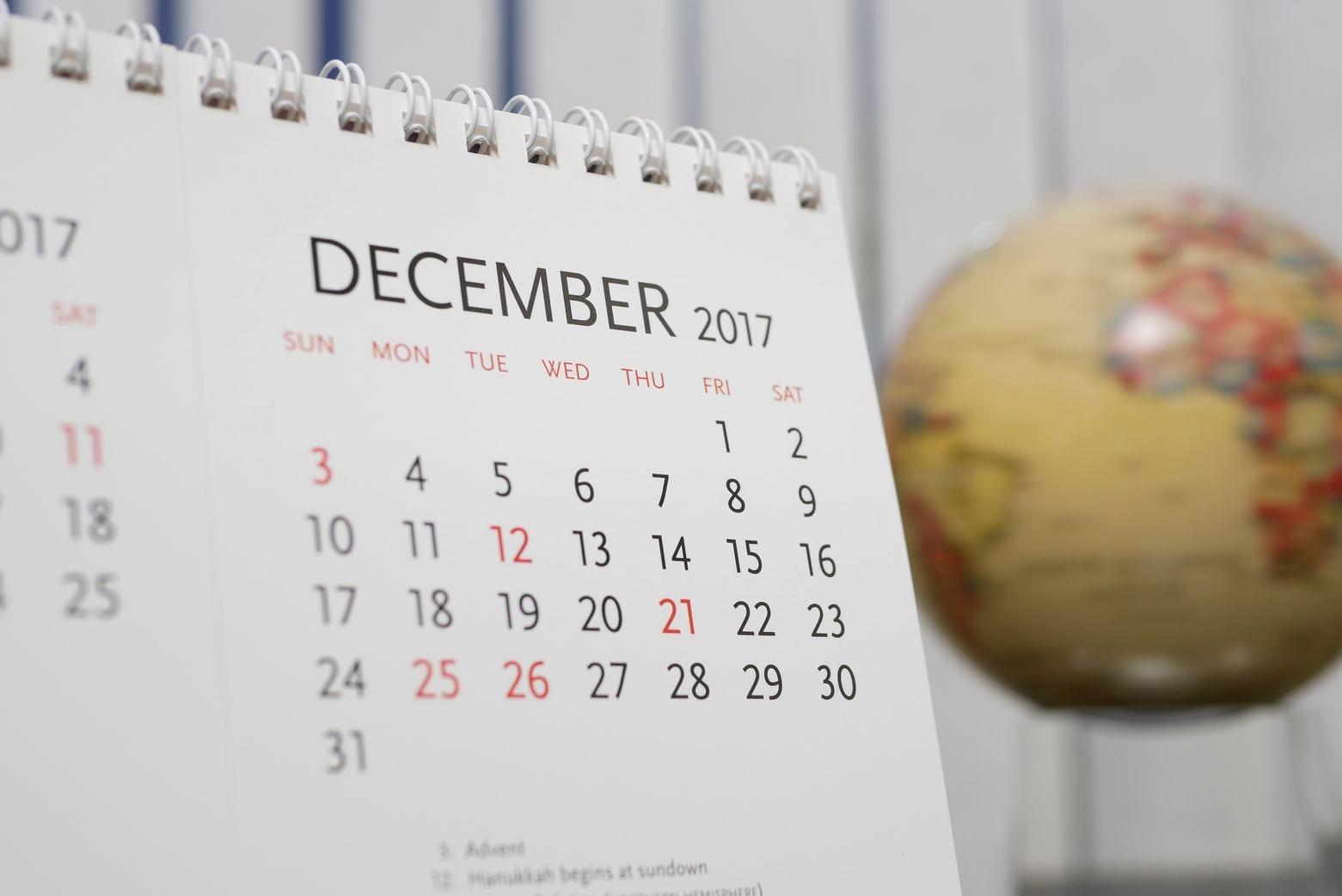 События для учителей английского в декабре