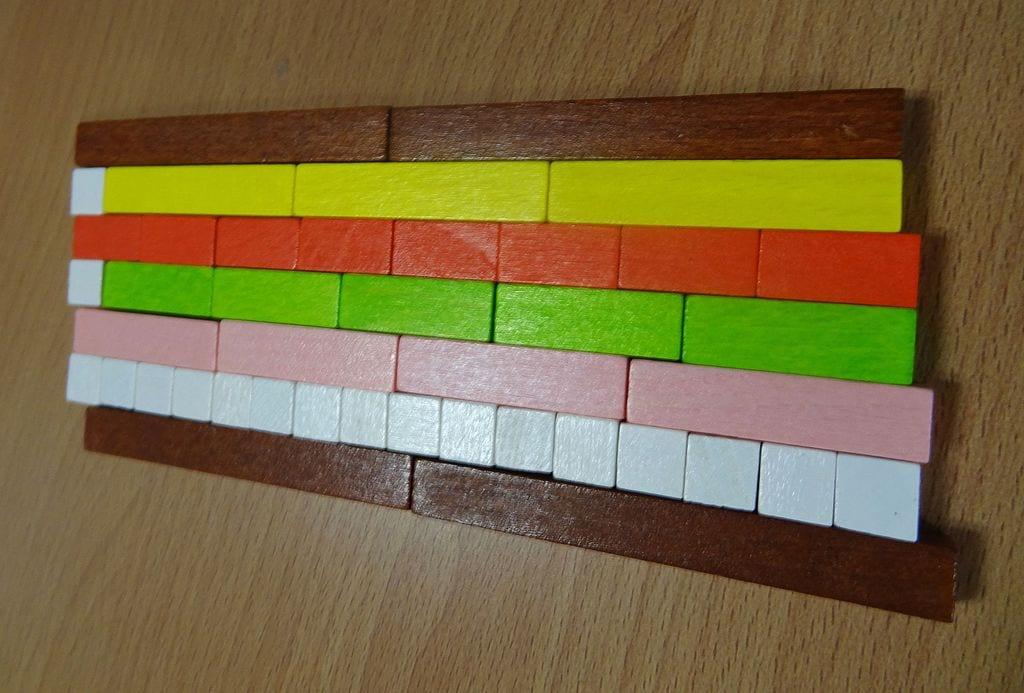 Игры с палочками Кюизинера для обучения детей английскому