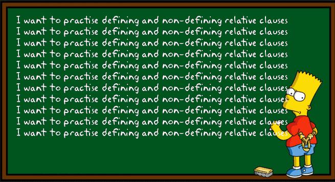 Relatively speaking: упражнения на relative clauses