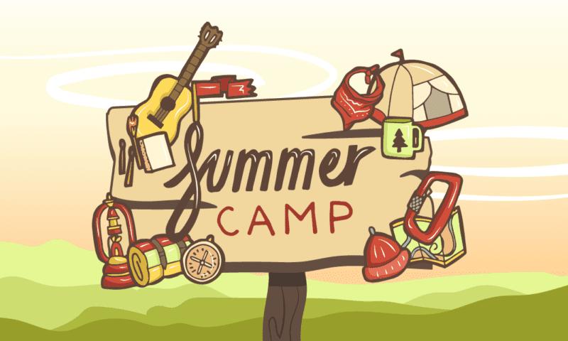 Лагерь на английском: речевки и кричалки для летнего лагеря