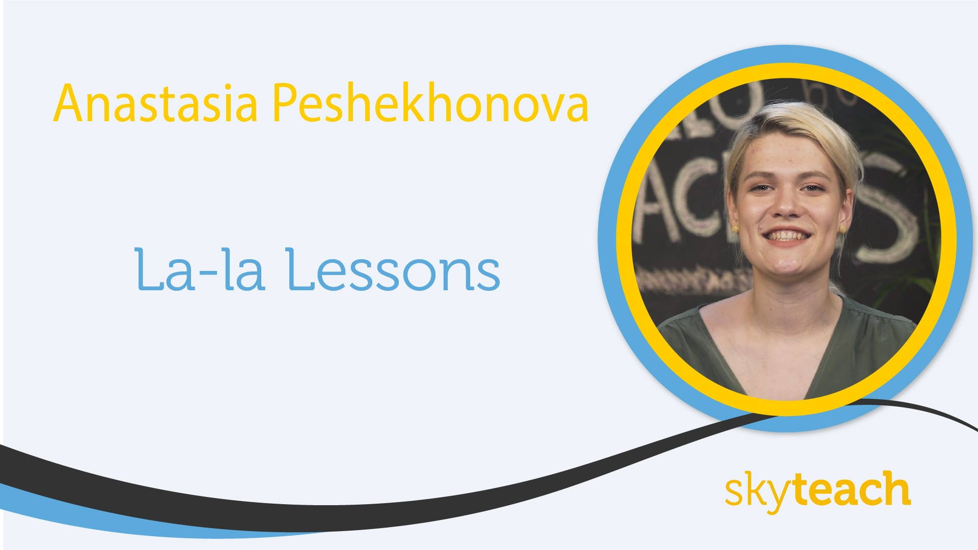 La-la lessons | Ideas for ESL lessons