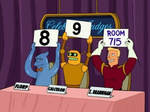 Movie club — Futurama, episode 1