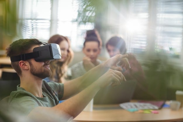 Virtual reality in the lessons