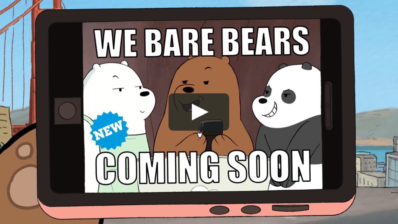 We bare bears (Viral Video)
