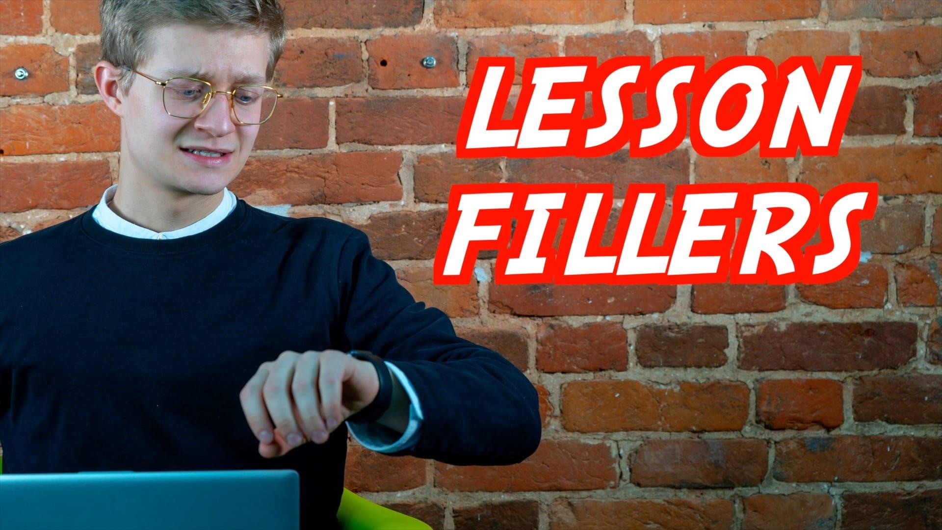 Что делать в оставшееся от урока время