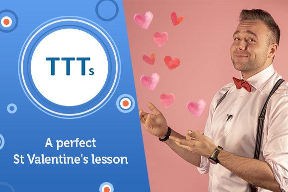 Урок английского в День святого Валентина