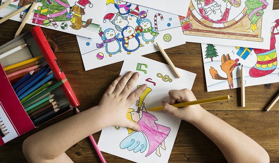 Раскраски на уроках английского языка