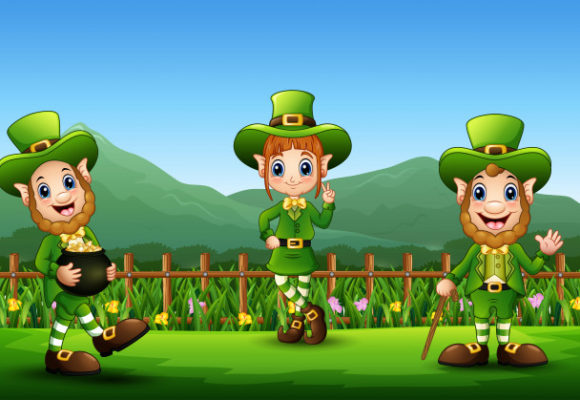 St.Patrick's Day in primary school