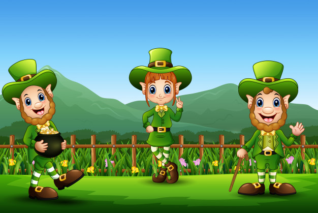 St.Patrick's Day in primary school