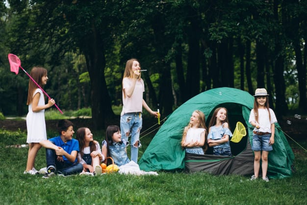 How to hold an only English day in a summer camp