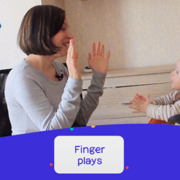 Finger plays / Пальчиковые игры с детьми. Премьера