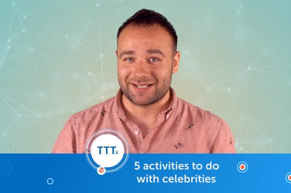 5 activities to do with celebrities. Шейк, Купер, Гага: новая тема урока с учеником