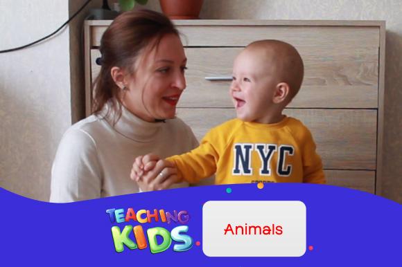 Названия животных. Учим английский с ребенком