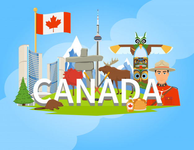Culture of Canada (worksheet for kids)
