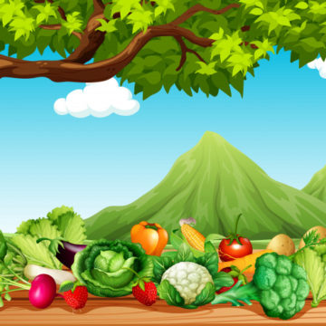 "7 activities on the topic ""Fruit and vegetables"""