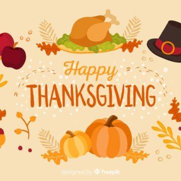День Благодарения: подборка заданий