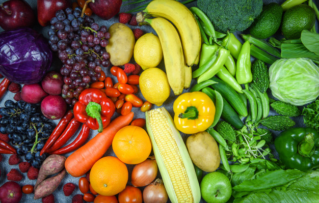 Fruit and vegetables (online exercises)