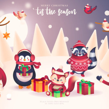 Christmas for preschoolers (worksheet)