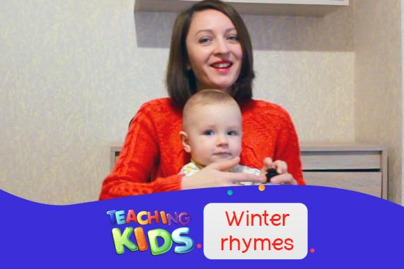 Новогодние поделки своими руками и песни на английском с ребенком