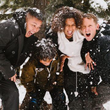 Зимние игры с подростками