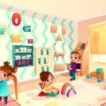 Furniture (worksheet for kids)