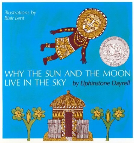 Why the sun and the moon live in the sky?