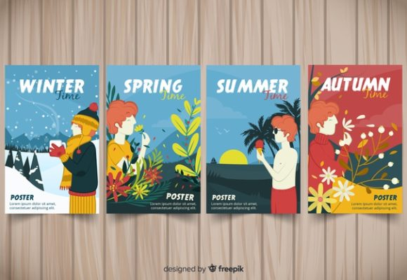 Seasons (lesson plan for kids)