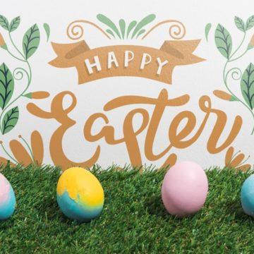 Happy Easter formal wishes (worksheet)
