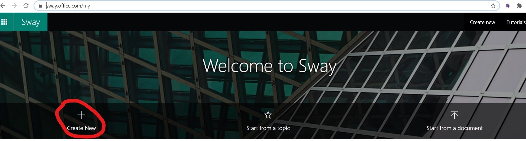 How to create SWAY presentations
