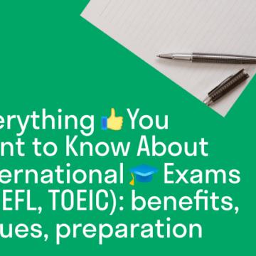 How to ace international exams like a marathon runner?