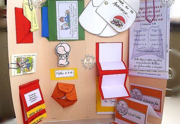 Интерактивные бумажные пособия для занятий с детьми