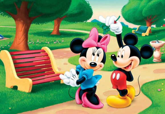 Mickey Mouse's birthday (worksheet for kids)