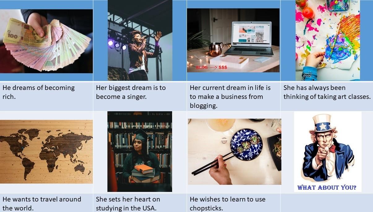 Make Your Dreams Come True Day: lesson ideas