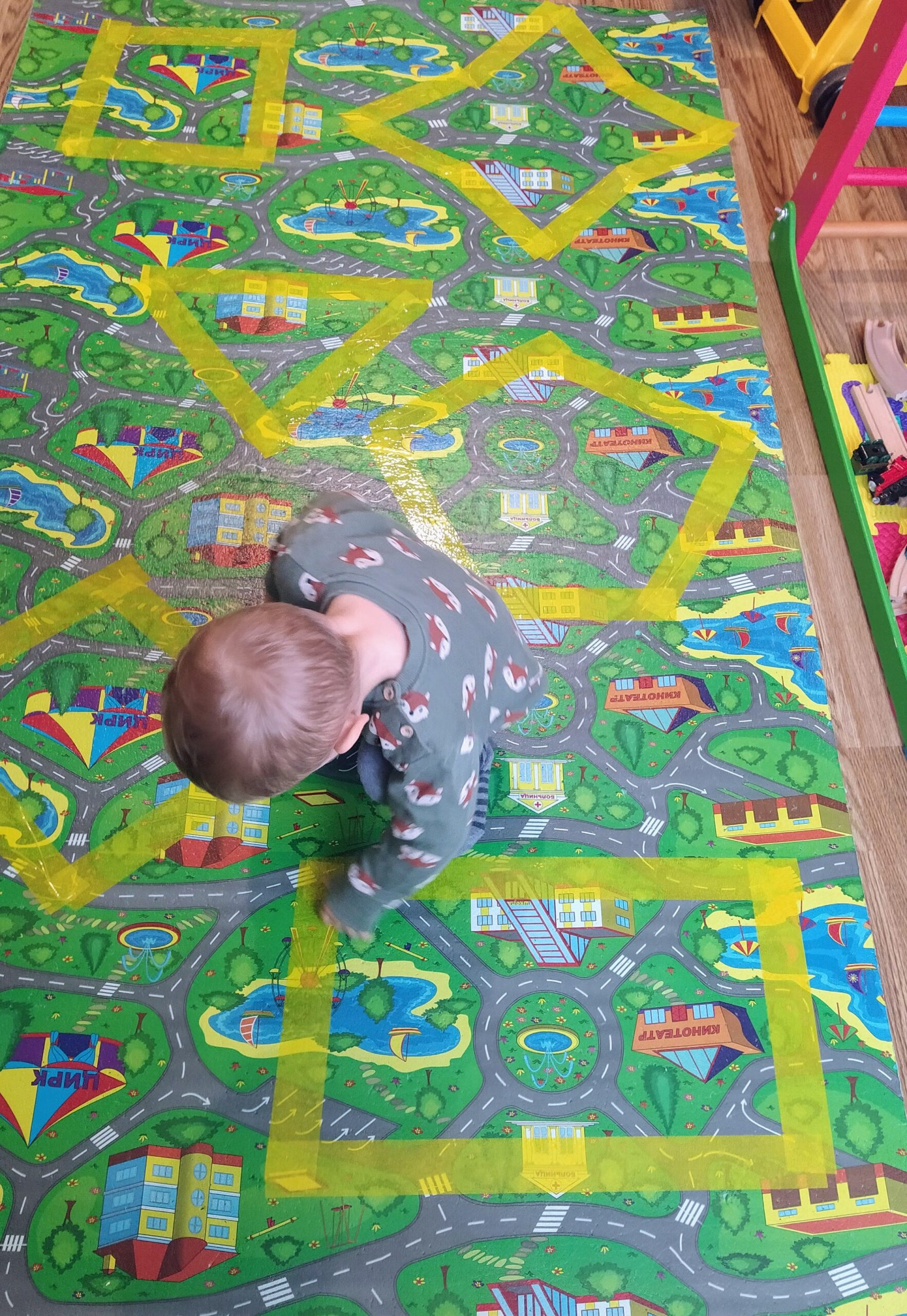 5 movement games for very young learners