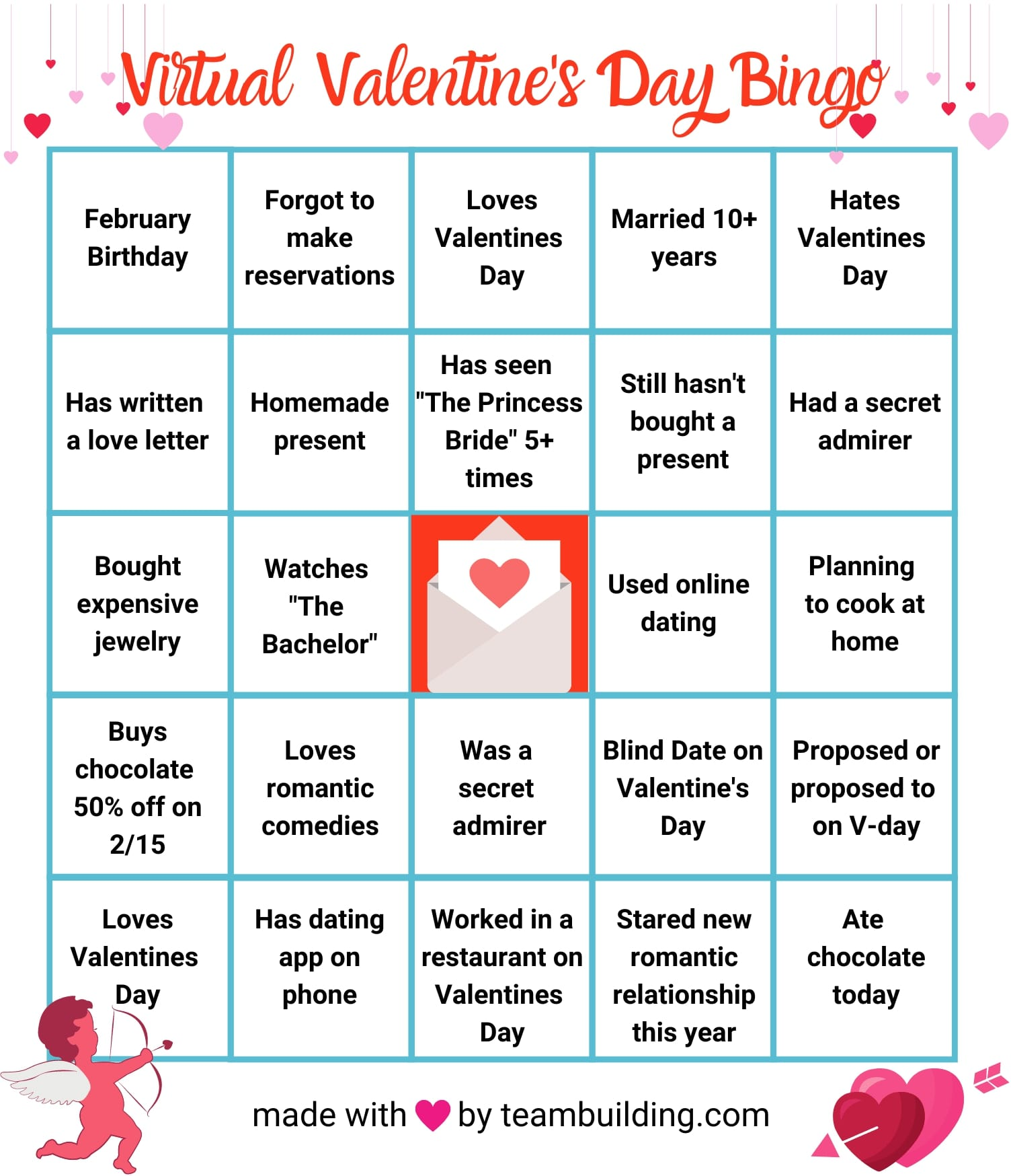 St. Valentine's day: lesson ideas for Pre-Intermediate learners