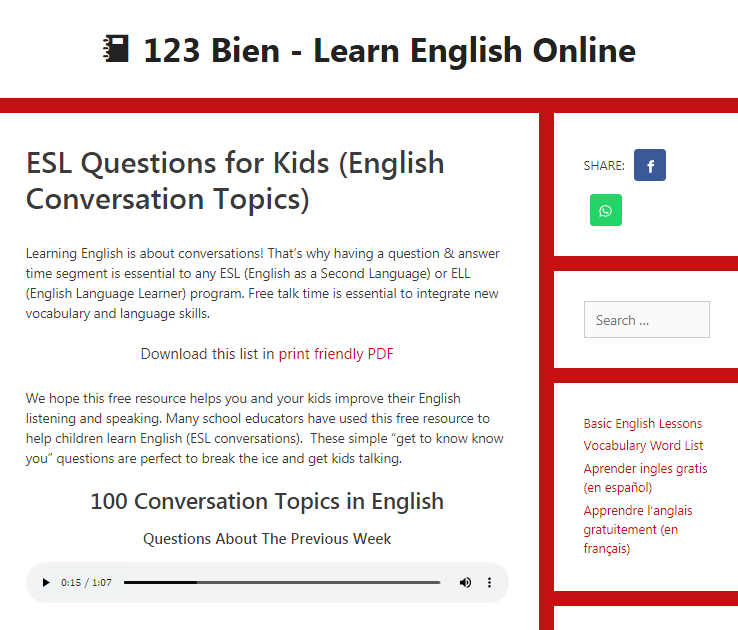 Лучшие сайты, где можно найти вопросы для small talk и warm-up