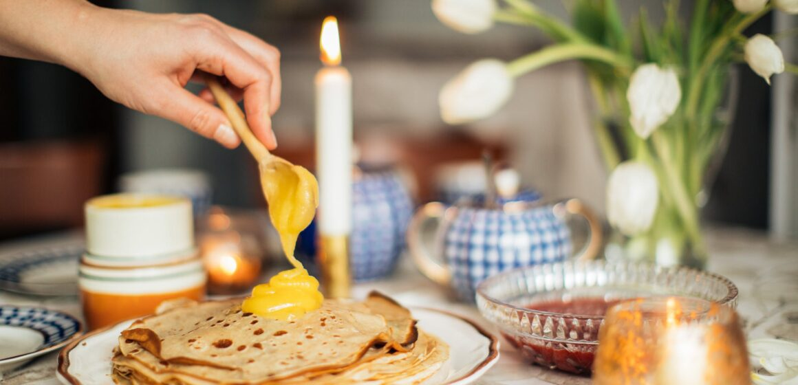 """Обсуждаем Масленицу и читаем """"The Big Pancake"""""""