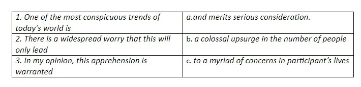 Lexical approach while teaching for TOEFL and IELTS