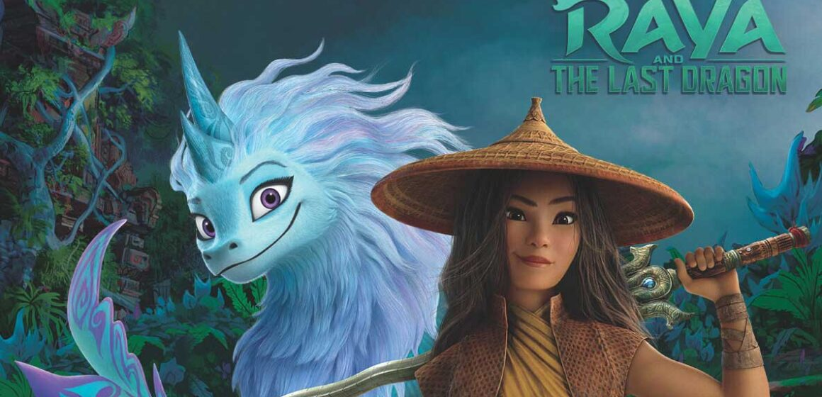Raya and the Last Dragon (worksheet for kids)