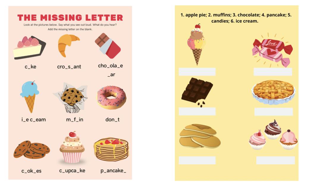 Вкусные уроки английского