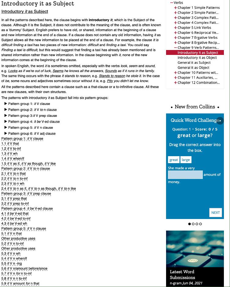 Corpus-based websites: обзор полезных сервисов для ELT