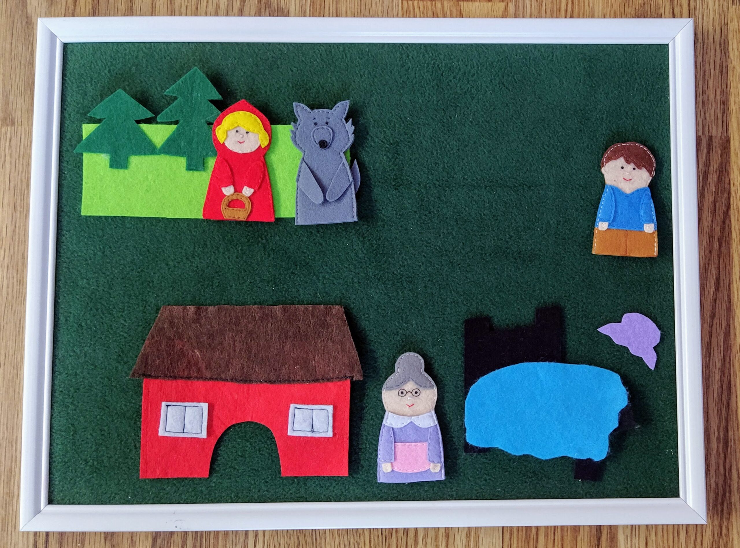 Felt storyboards for young learners