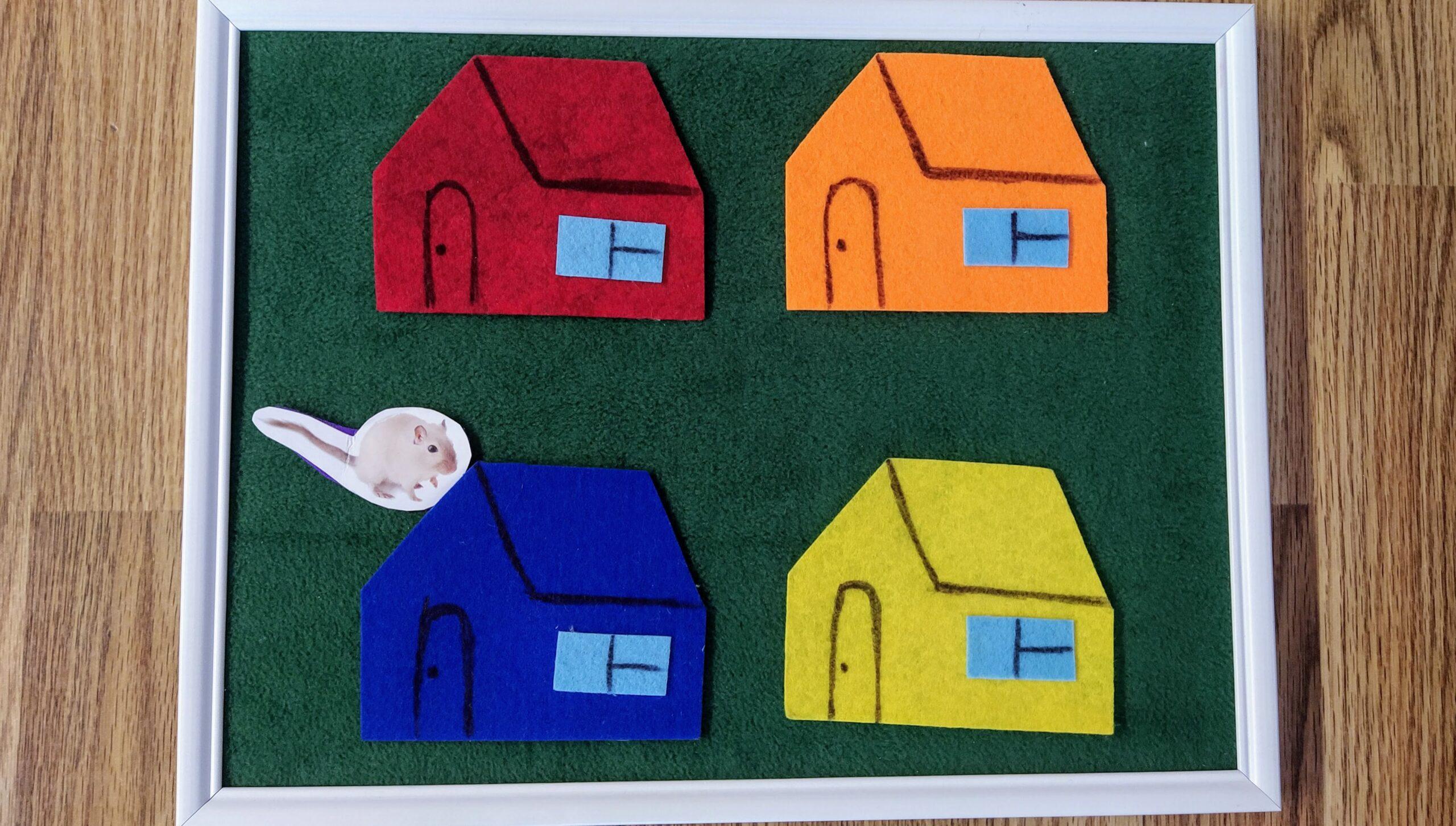 Пример сториборда для обучения детей английскому
