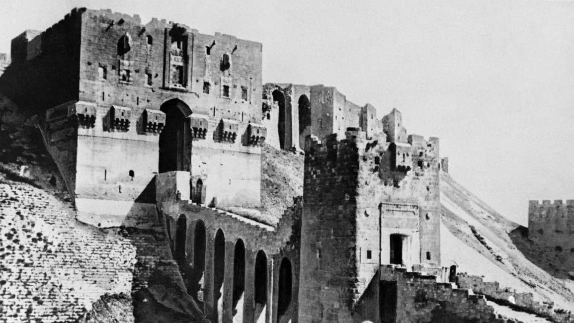 Aleppo's citadel suffered significant damage during the earthquake