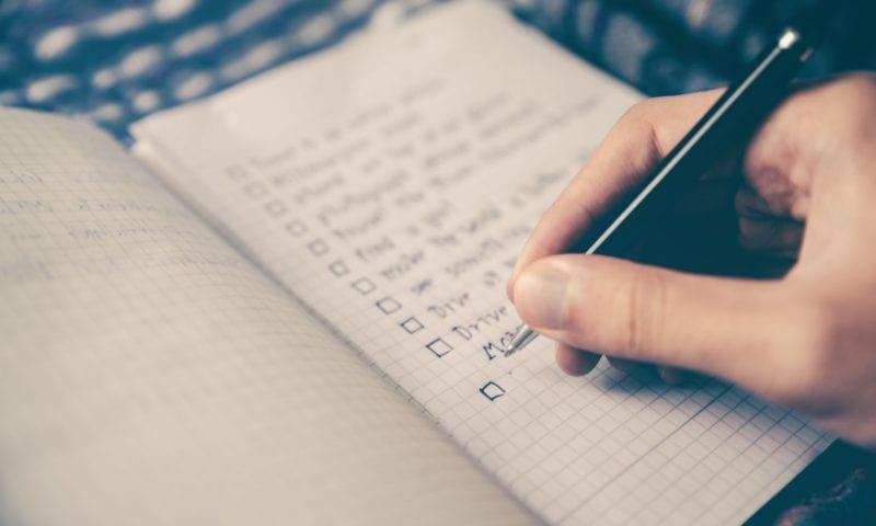 Пять типов письменных заданий для начинающих