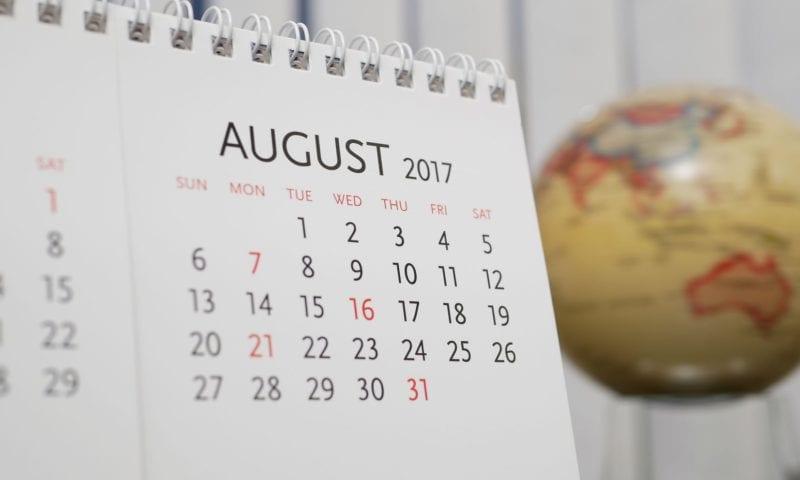 События для учителей английского в августе