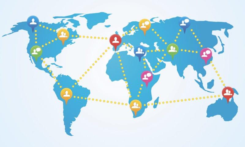 Зоны без английского на карте мира